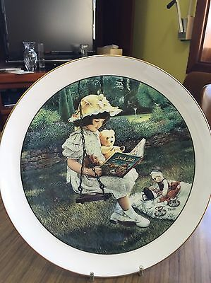 "Wedgwood ""Childhood recalled"" Collector plate"
