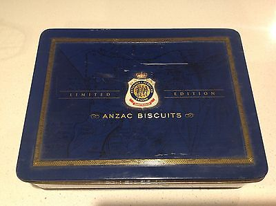 Limited Edition  Australian Unibic Rsl Anzac Biscuit Tin- 2010