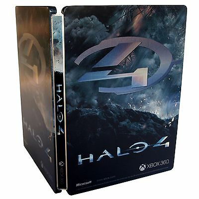 Halo 4 G1 Steelbook Only ''no Game'' Xbox 360 Rare