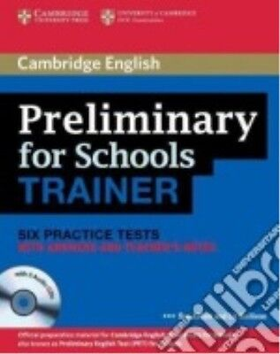 9780521174879 Preliminary For School Trainer. Practice Test With Answers. Con Es