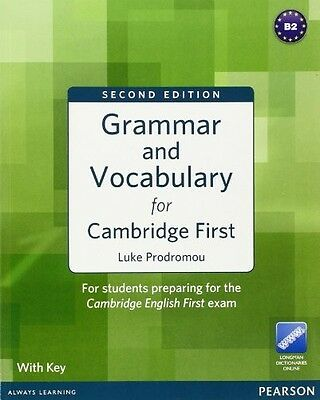 9781408290590 Grammar & Vocabulary For Cambridge First. Student's Book. With Key