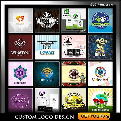 Professional Custom Logo Design, Vector Source File and Revisions