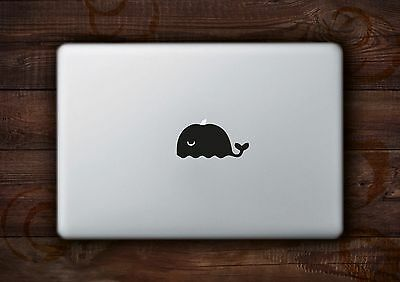 "Whale Sticker Decal Vinyl for Apple Macbook Air/Pro 11"" 12"" 13"" 15"" inch"