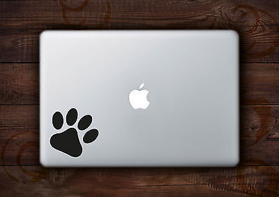 "Paw Print Sticker Decal Vinyl for Apple Macbook Air/Pro 11"" 12"" 13"" 15"" inch"