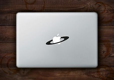 "Saturn Ring Sticker Decal Vinyl for Apple Macbook Air/Pro 11"" 12"" 13"" 15"" inch"