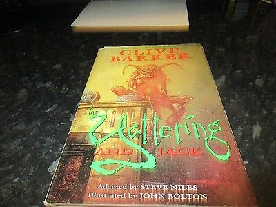 Clive Barker The Yattering And Jack Hardback Graphic Novel First Edition