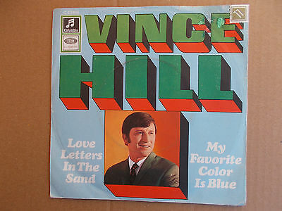 """Vince Hill - Love Letters In The Sand ( 7"""" Single, 1967, Z= sehr gut )"""