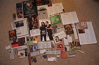 Alice Cooper UK Cuttings Clippings Set