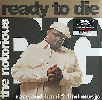 Notorious B.I.G READY TO DIE 2013 Sealed 2LP **GOLD Vinyl** LIMITED Rare JUICY