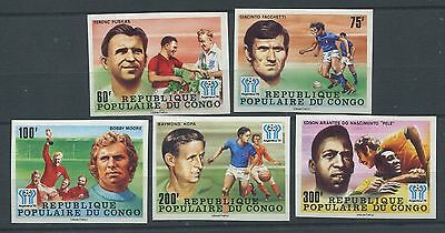 5552. Republic Of The Congo. Argentina. Football. MNH.