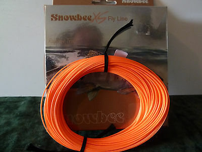 SNOWBEE FLY FISHING LINE - XS Hi-Vis RED WF5 FLOATING