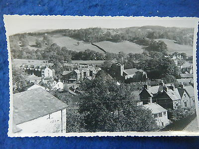 Coniston: Elevated View Of Village - Scarce Real Photo Postcard!