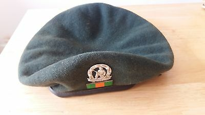 SADF - SOUTH AFRICAN COMMANDO BERET AND BALKIE 1970's  Border War Issue