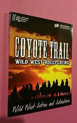 Coyote Trail Wild West Roleplaying - Roleplay Rpg Dnd Oop Western Game Book New