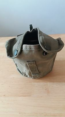 SADF- Fire Bucket and water bottle cover 1970's- 1980's