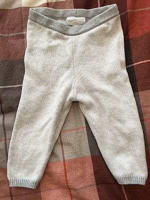 Little White Company 9-12 Month Knitted Trousers
