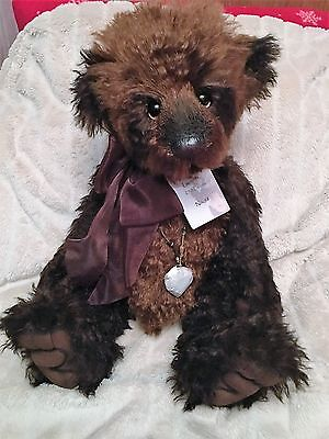 Charlie Bears Isabelle Lee 2012 Collection Mohair Bear Dufous Limited No 58