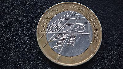 Olympic  Centenary 2 Pound Coin