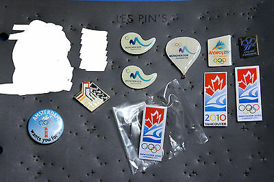 Olympic Games Candidate Cities Pins
