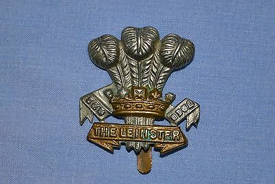 Army Cap Badge: The Prince Of Wales's Leinster Regiment (Royal Canadians)