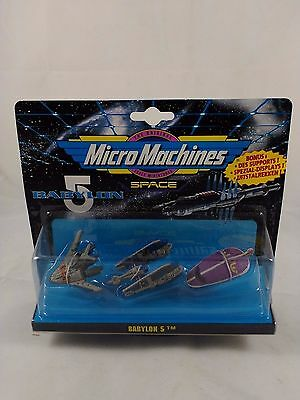 Micro Machines Babylon 5 set #5 Collection