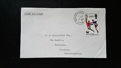 GB 1966 WORLD CUP VICTORY FDC (No2003)