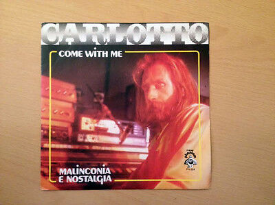 "CARLOTTO - Come with me 45 giri 7"" ITALO DISCO Phantom records Italian RARO"