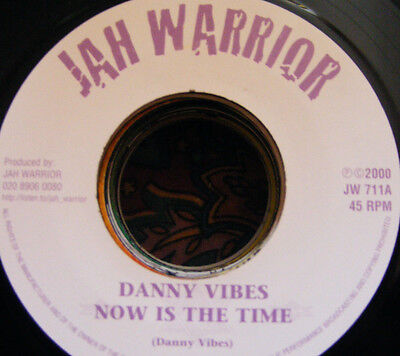 Danny Vibes - Now Is The Time - Jah Warrior - New - Record - Free Uk Post - Dub