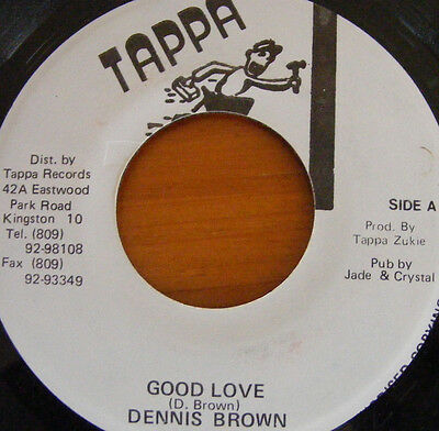 Dennis Brown - Good Love - Tappa - Wicked Lovers - Free UK Post - NEW