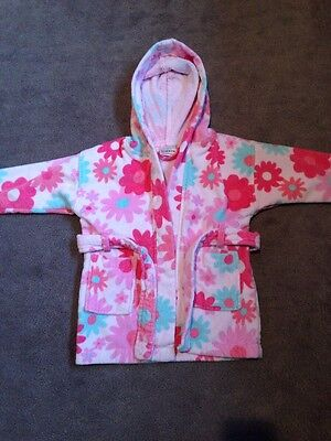 Girls Next Dressing Gown Age 12-18 Months