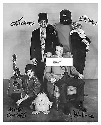 """""""Autographed""""  Wallace & Ladmo poster"""