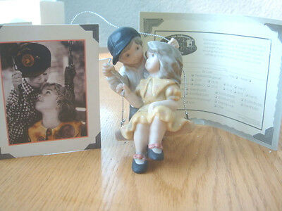 """Pretty As A Picture Kim Anderson """"our First Special Year""""  Swing  Ornament- Nbox"""