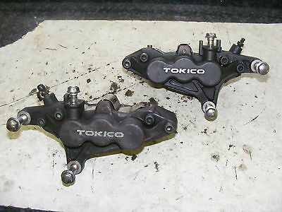 Kawasaki Zx7R Tokico 6 Pot Front Brake Calipers New Pads Nothing To Do But Fit