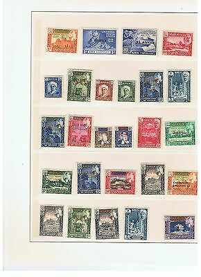 Aden. 1940-50. Lot 7 of 26 cancelled and non-cancelled stamps.