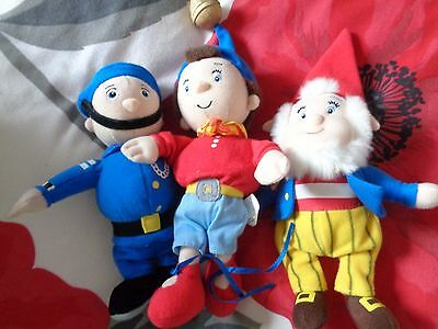 Noddy and friends soft toys