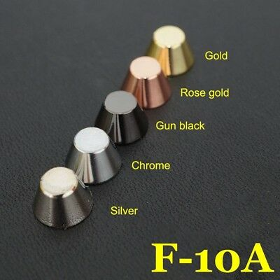 20X Leathercraft Solid Brass Screw Luggage Punk Nail stud Rivet accessories 10mm