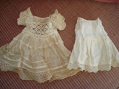1920S Doll Dress And Underslip