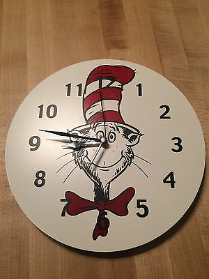 Dr. Seuss The Cat in the Hat Clock by Trend Lab