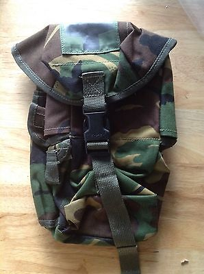 Web-tex First Aid Pouch, Utility Pouch, Medical Pouch, Woodland Camo, New