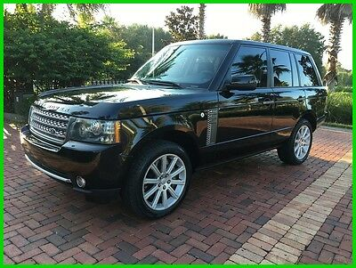 2010 Land Rover Range Rover Supercharged   LOW RESERVE 2010 Supercharged Used 5L V8 32V Automatic AWD SUV LCD Premium LOADED