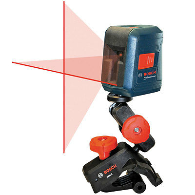 Self-leveling Cross-Line Laser replaces GLL2-10 O-B Bosch Tools GLL2