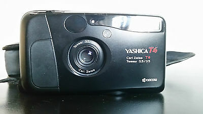 Yashica T4 + Carl Zeiss Tessar T* 35mm F3.5