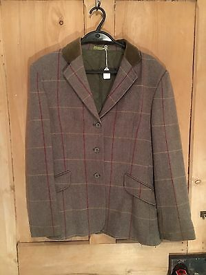 Shires Tweed Show Jacket Size 38 Approx 12-14