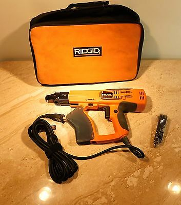 Ridgid Collated Screw Gun, With Accessories And Soft Carrying Case #r6790