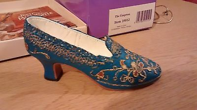 "Collectible Miniature Shoe ""Just the Right Shoe"" by Raine - The Empress (Boxed)"