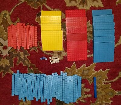 ETA Cuisenaire educational decimal math base counting blocks