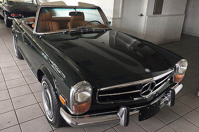 1970 Mercedes-Benz SL-Class 280SL 1970 Mercedes 280SL with a 4 speed manual transmission