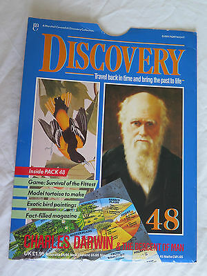 MARSHALL CAVENDISH DISCOVERY Pt 48 CHARLES DARWIN & THE DESCENT OF MAN