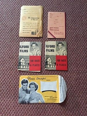 A Collection Of True Vintage Photograph Wallets