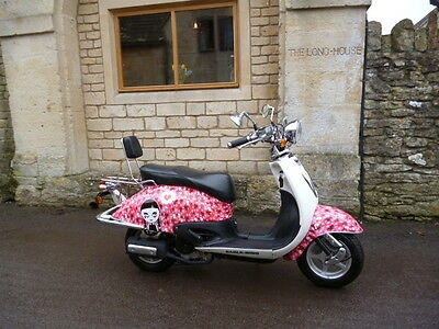 Barnfind ! Very Rare Brand New 2002 Benzhou Eagle Wing Scooter 1 Mile From New